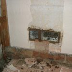 Back Boxes Mortared 1