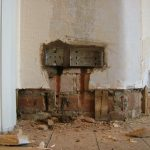 Back Boxes Mortared 2