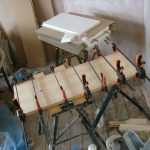 Glueing Shelf Planks
