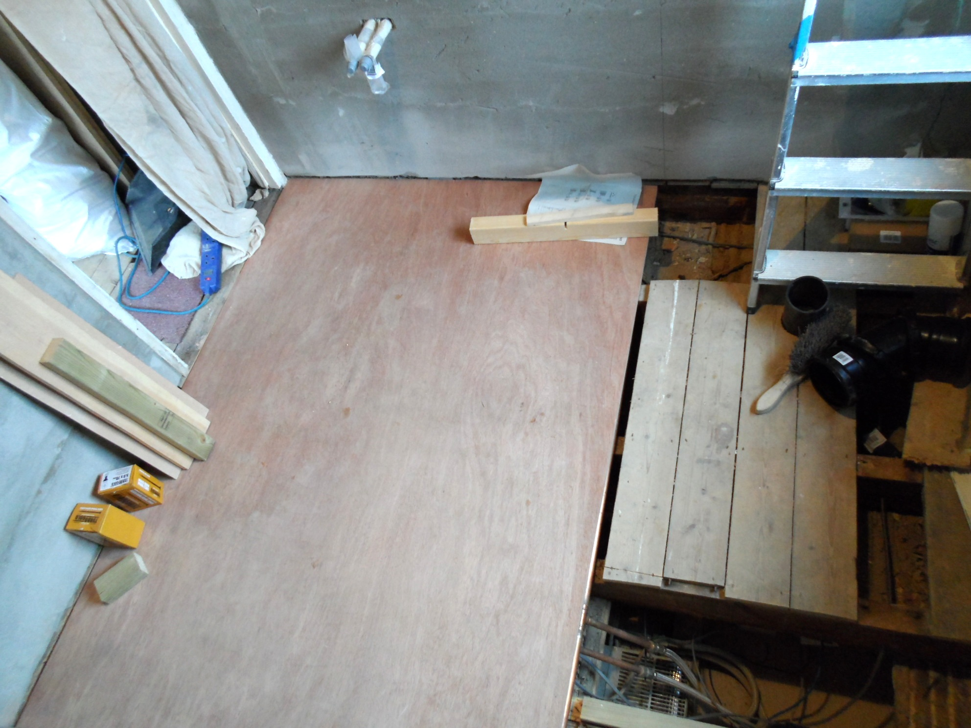 Plywood for bathroom floor - A Bit Of Floor