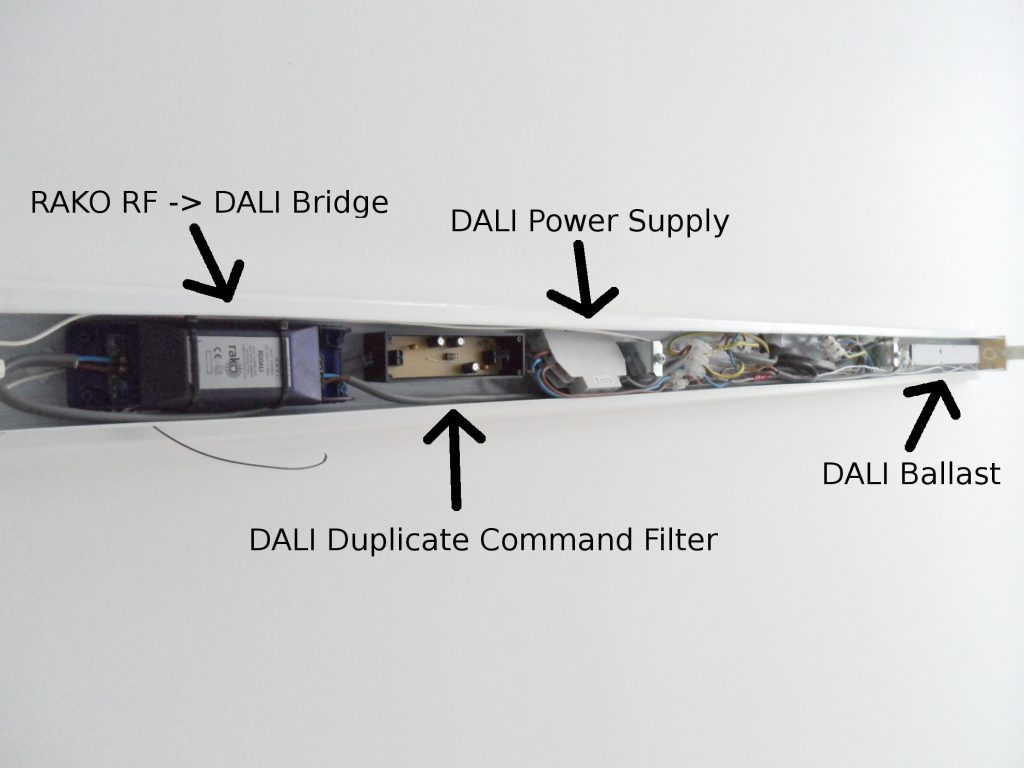 DALI Filter v2 Installed