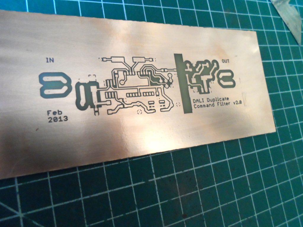 DALI Filter v2 PCB