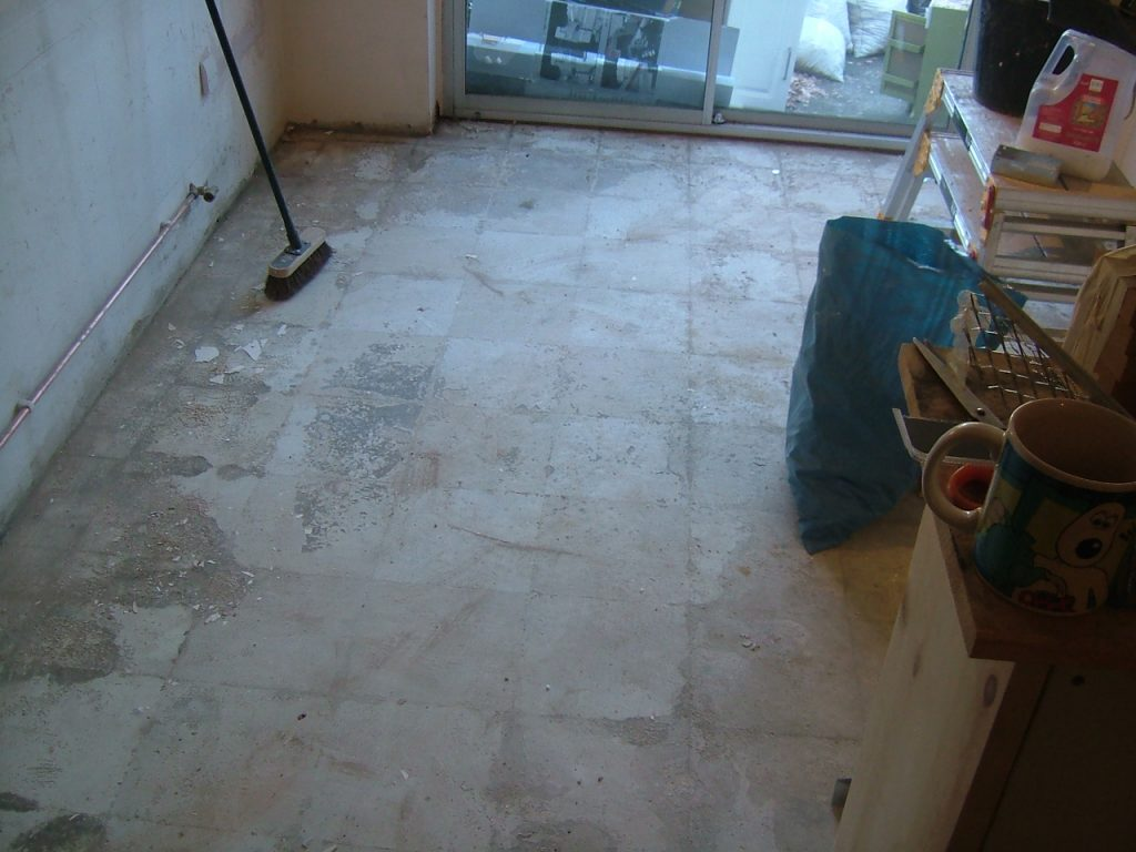 Floor Stripped 1