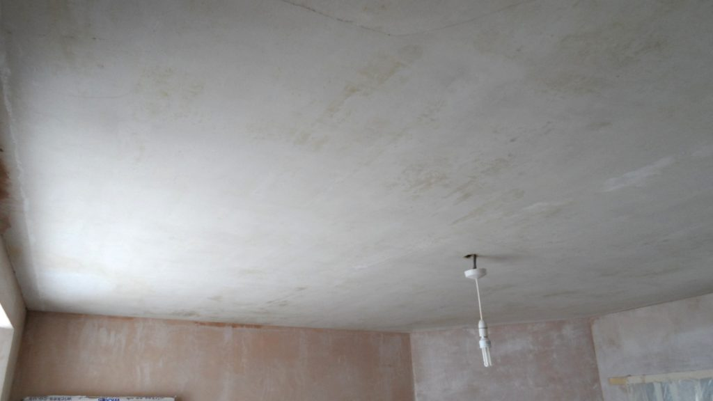 Frontroom Ceiling Scrubbed