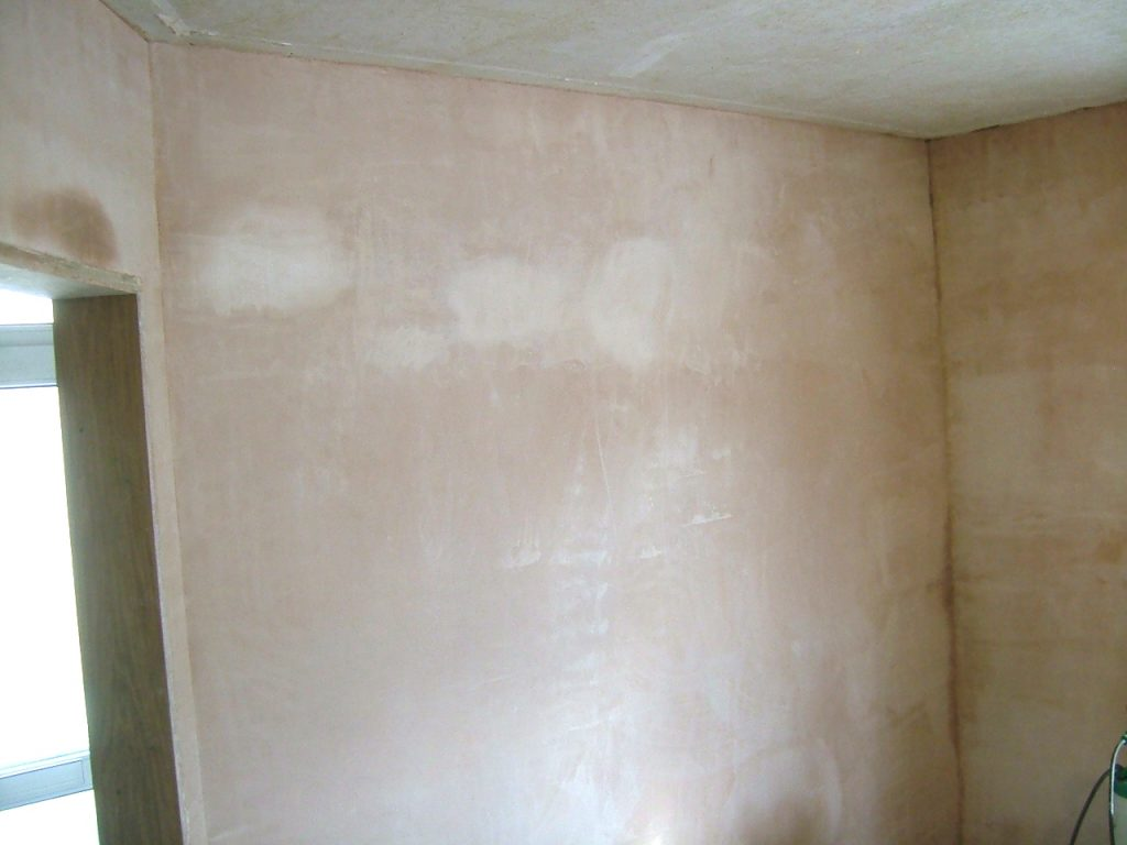 Frontroom Wall Plastered 1