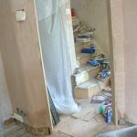 Frontroom Wall Plastered 3