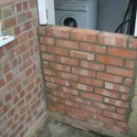 Kitchen Door Bricked Up 1