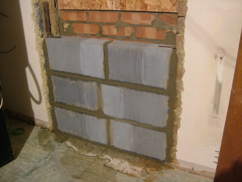 Kitchen Door Bricked Up 3