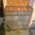 Kitchen Door Bricked Up 4