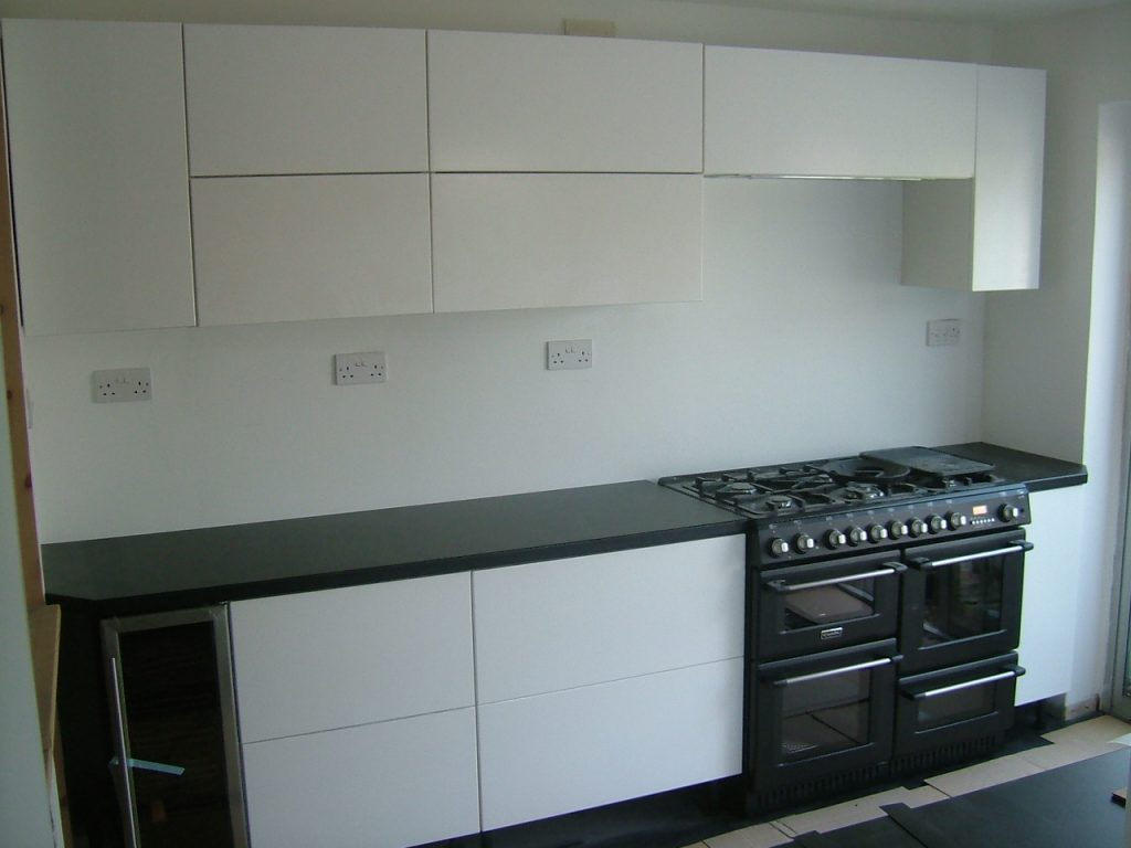 Final Worktops Fitted