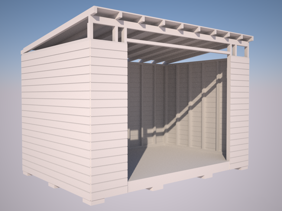 Shed Design - Cladding