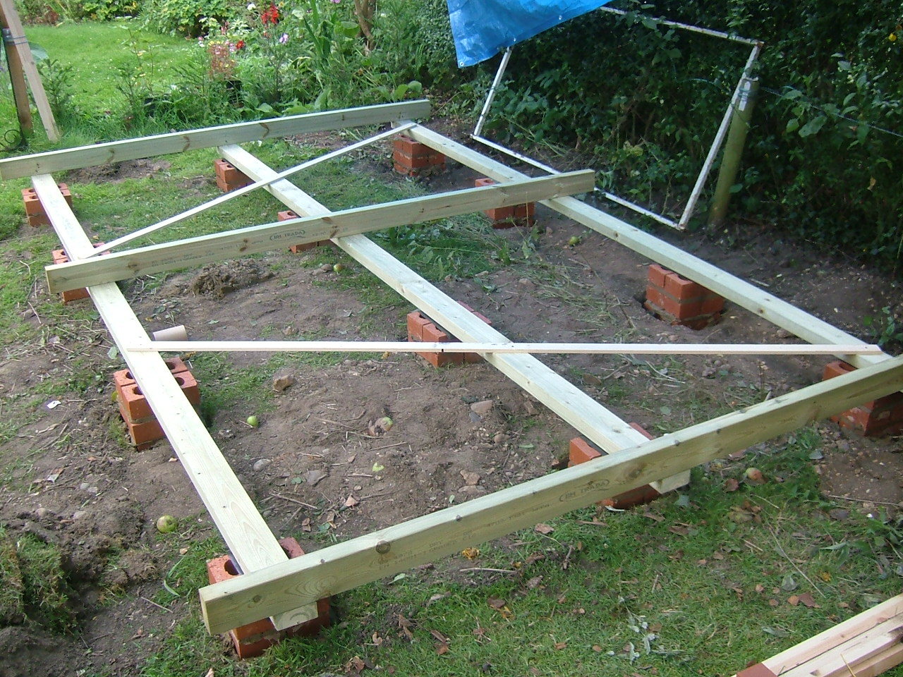 Shed Foundation for Pinterest
