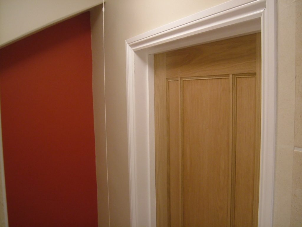 Door Frame Glossed