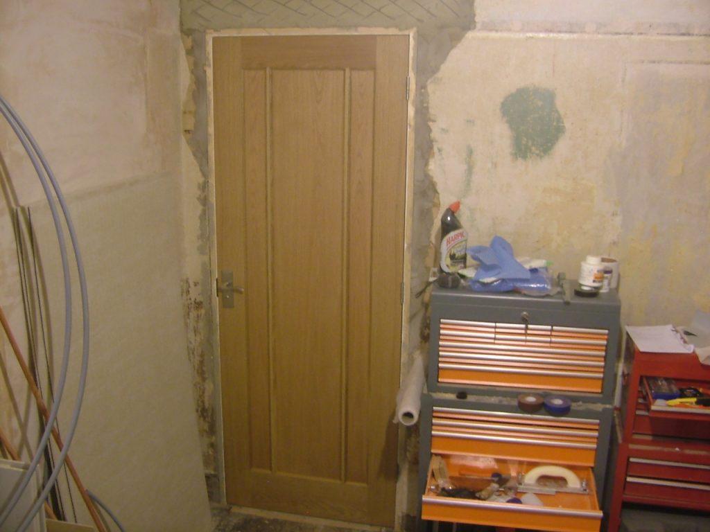 Shower Door Hung