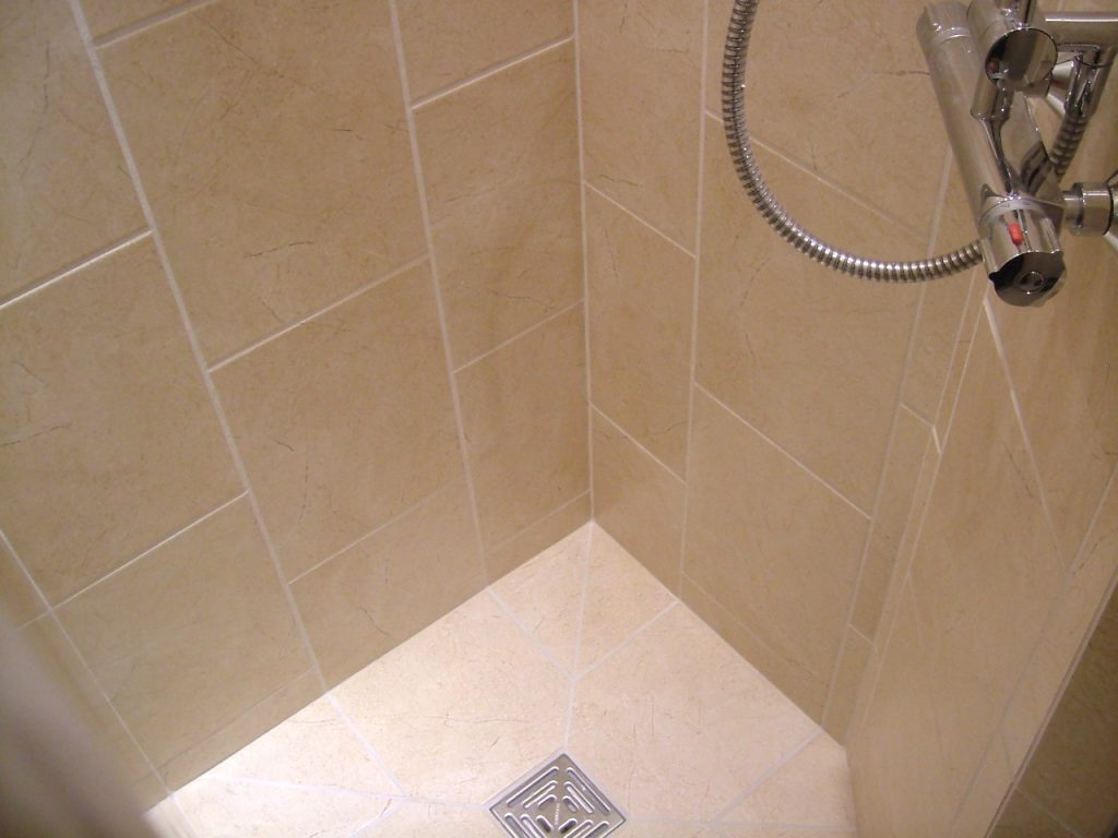 Tiles Grouted