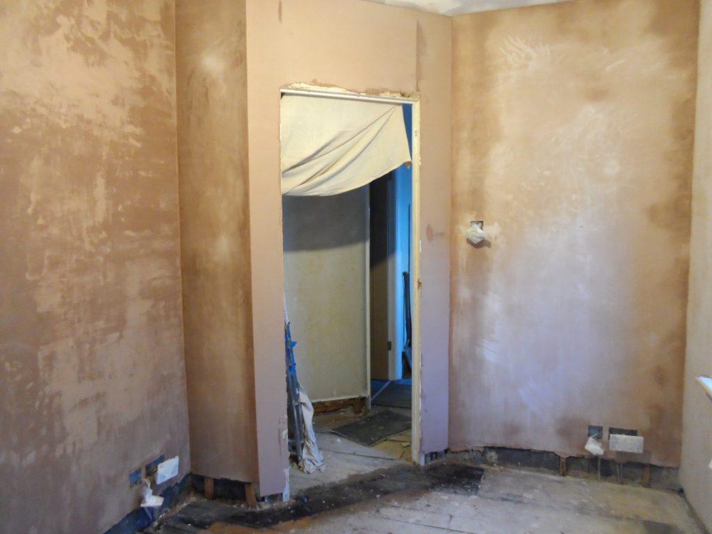 Last Walls Plastered