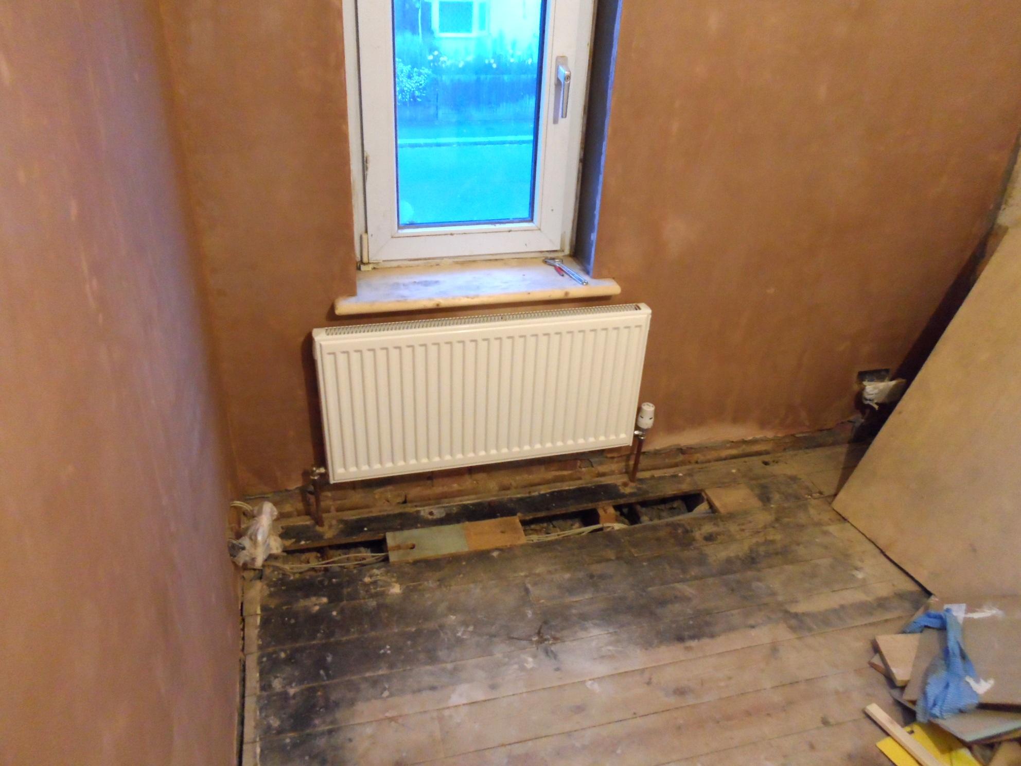 Small Bedroom Radiator Refitted