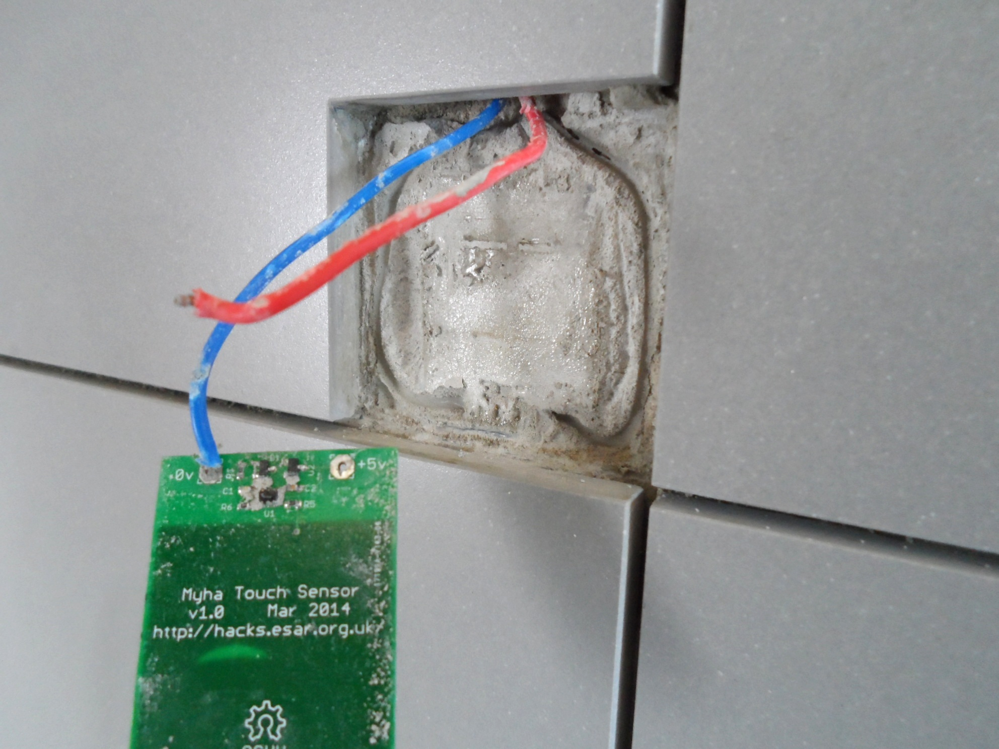 Bathroom Touch Sensitive Light Switch - Removal
