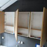 Cabinet Doors Hung 1
