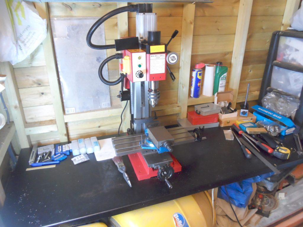New Toy - Sieg SX2 Plus Milling Machine