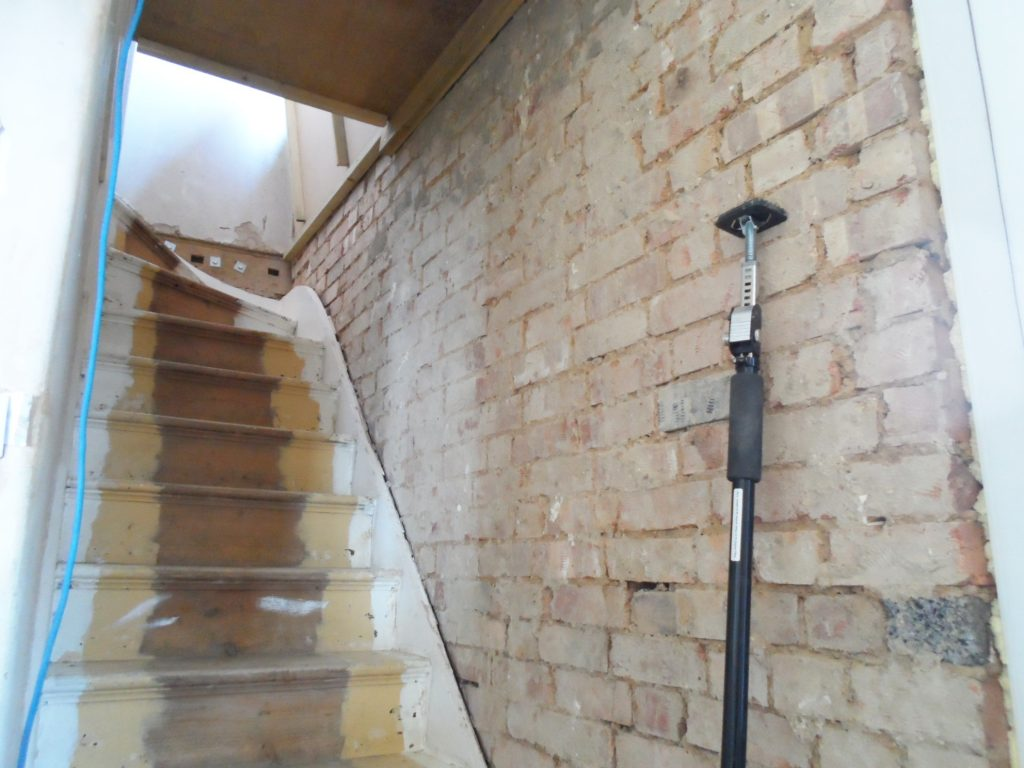 Stair Wall Stripped 1