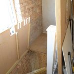 Stair Wall Stripped 3
