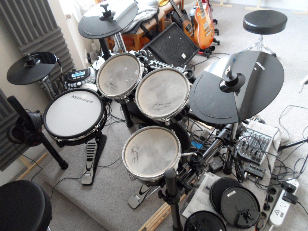 mesh-drum-pads