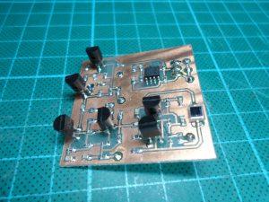 Discrete Photo-Diode Amplifier