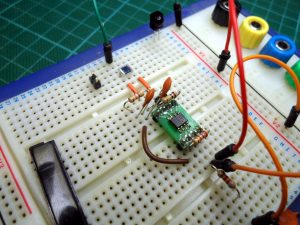 Simple Photo-Diode Amplifier